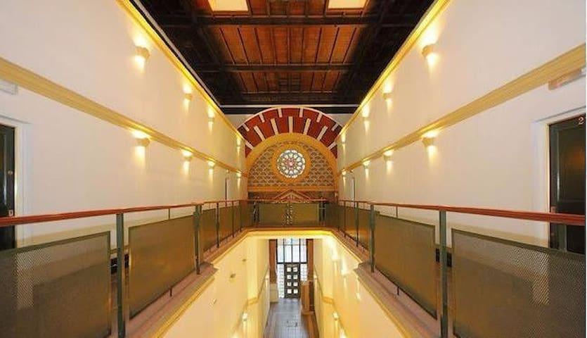 Unique & cozy studio in a converted synagogue