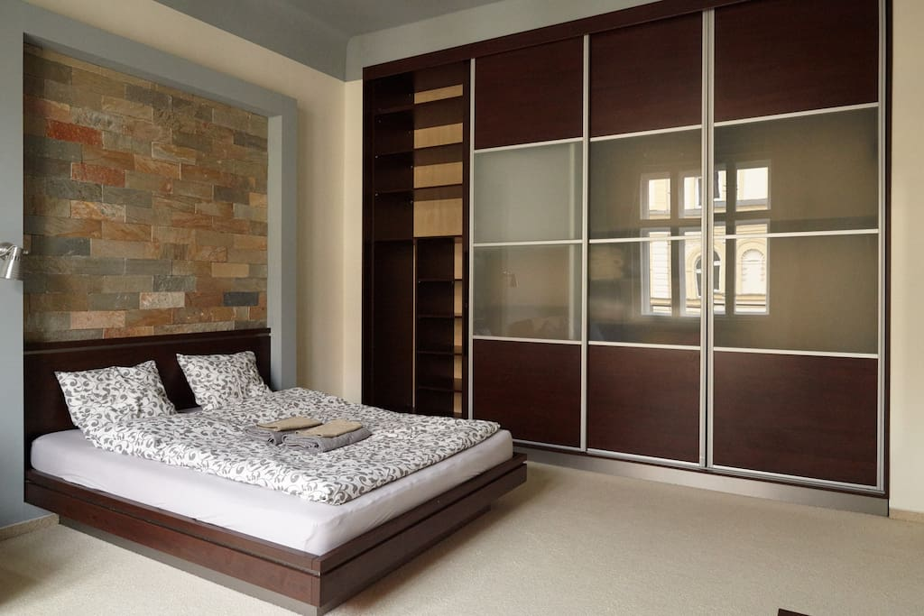 Spacious bedroom