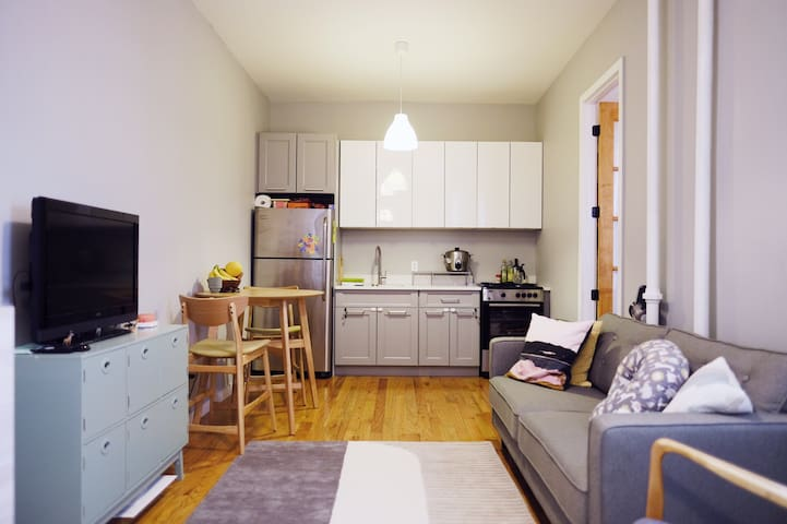 Charming private bedroom in East Williamsburg