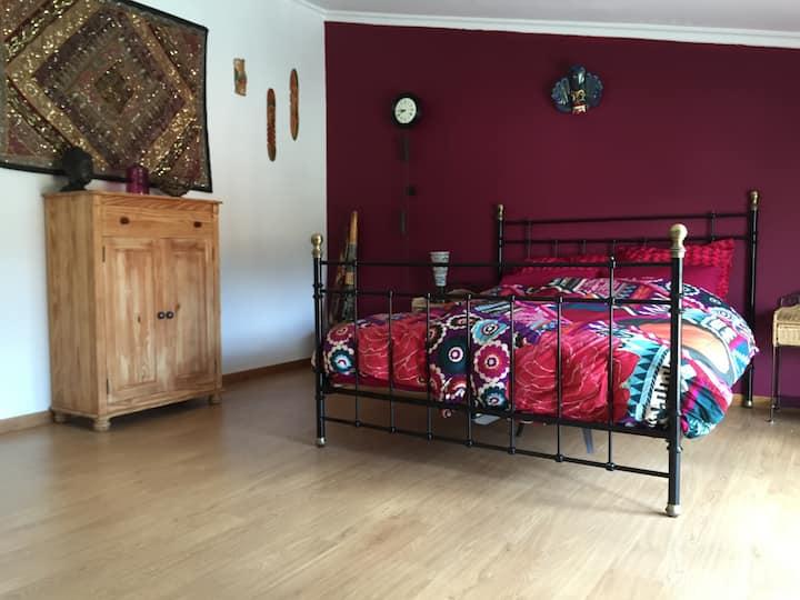 Byzanthijnse kamer | Bed & Breakfast Casa Traca Arganil, Portugal