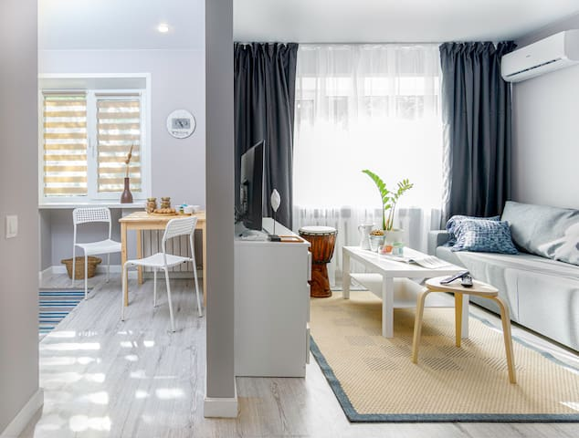 Houzz-style lux apartment in the centre