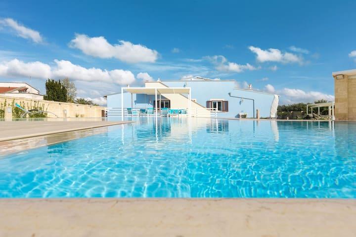 673 Villa with Pool in Ruffano Gallipoli - Ruffano - Villa