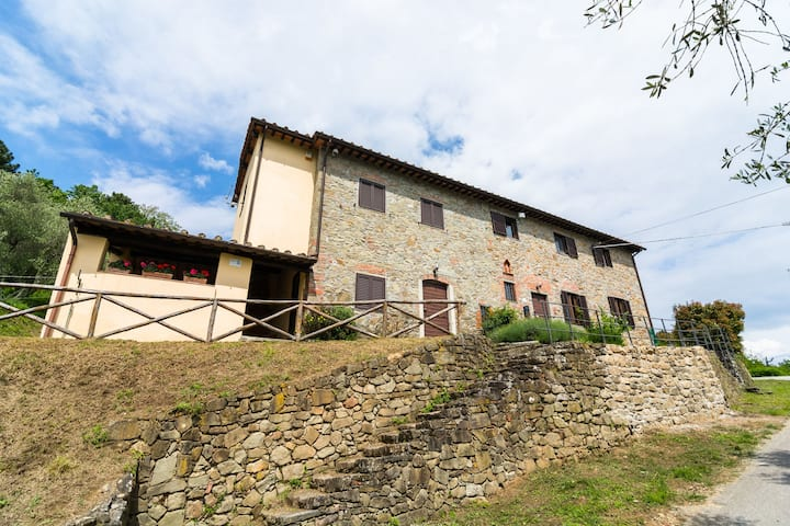 Holiday Home in Pescia with Swimming Pool, Garden, Terrace
