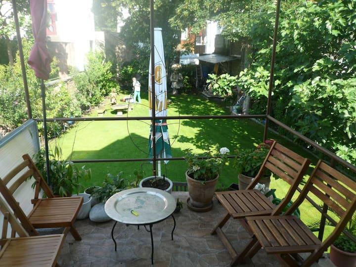 Gartenblick Wohnen auf Zeit