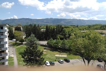 Studio à la frontière de Genève (1-2 personnes) - Saint-Julien-en-Genevois - Huoneisto