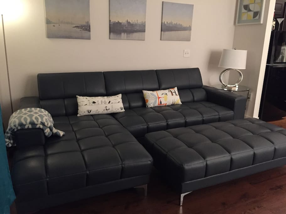 Comfy Couch with Chaise