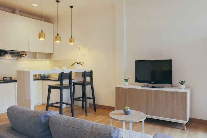 1Bedroom with Kitchen in Denpasar Heritage City