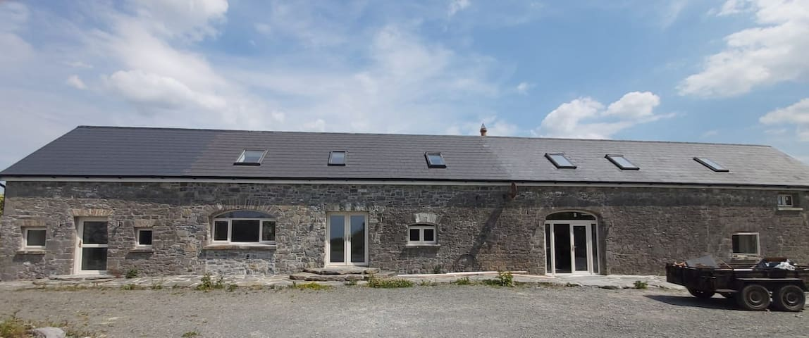 renewed stone house in a peaceful area