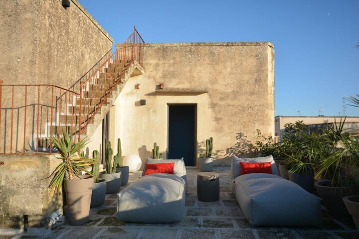 Appartamento di charme a Lecce con terrazza