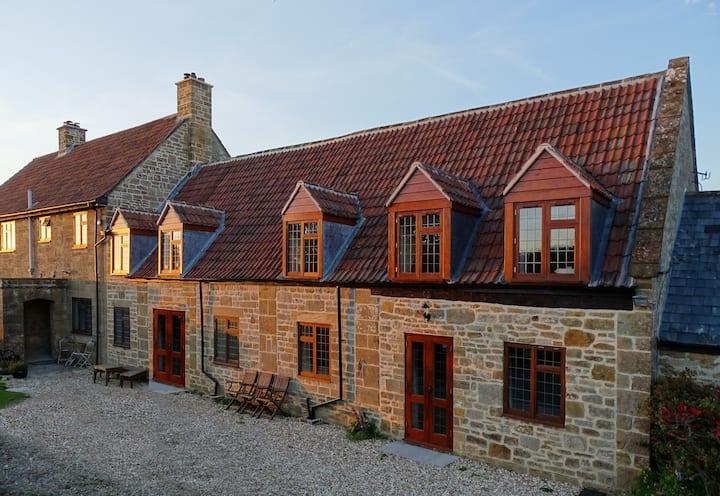 Premium-Barn-Private Bathroom-Countryside view