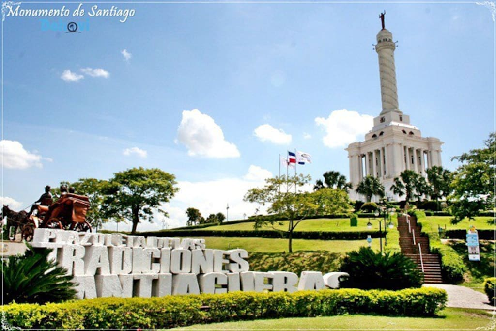 Things to do: Many restaurants and bars surrounding Monumento de Santiago.