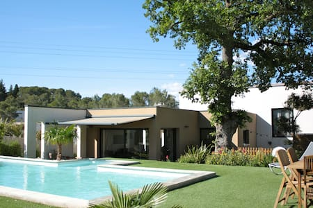 Maison comtemporaine avec piscine - Saint-Gély-du-Fesc - 独立屋