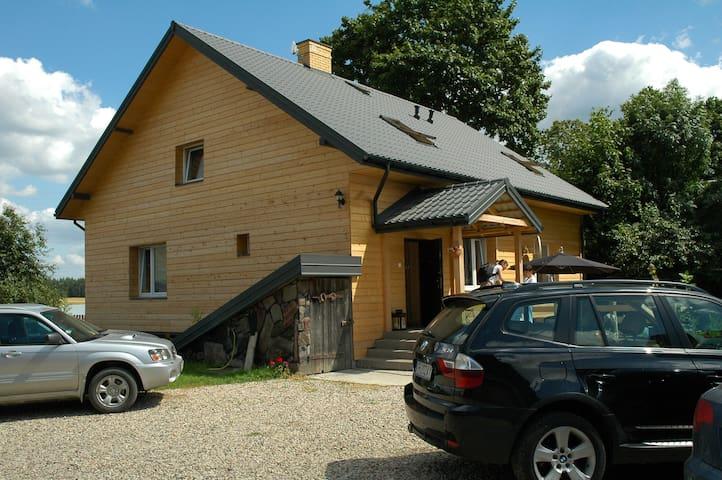 Przystanek Rospuda 3 - Na Wschód - Sucha Wieś - Rumah