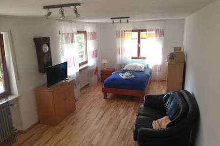 Sizeable quiet rooms in malsburg-marzell