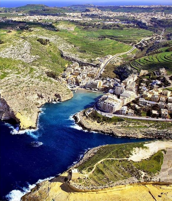 The most special bay in Gozo