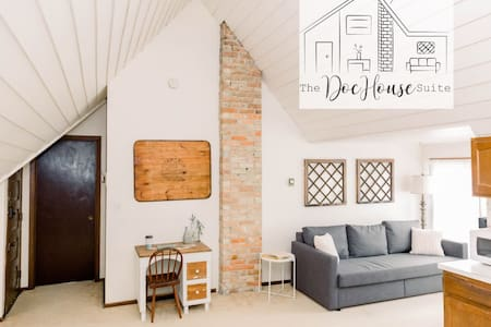 {The DocHouse Suite}  || ~ Coffee Bar & Balcony ~
