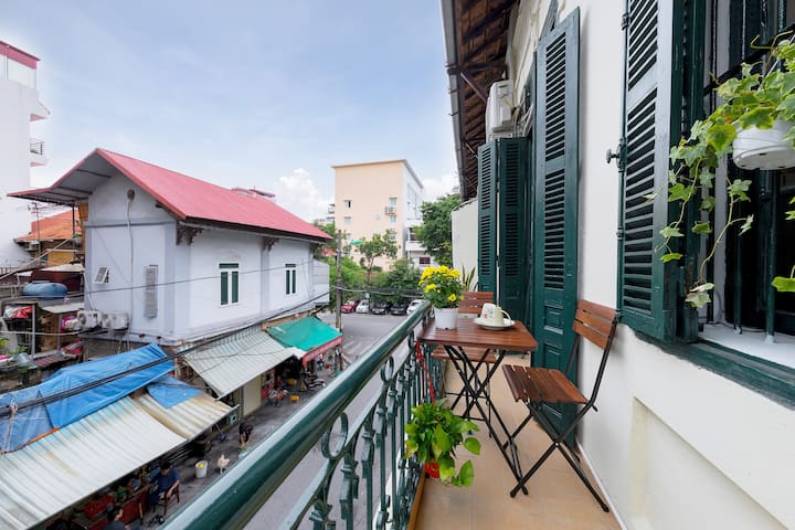 Cosy space in Hanoi Old Quarter *BALCONY*KITCHENT