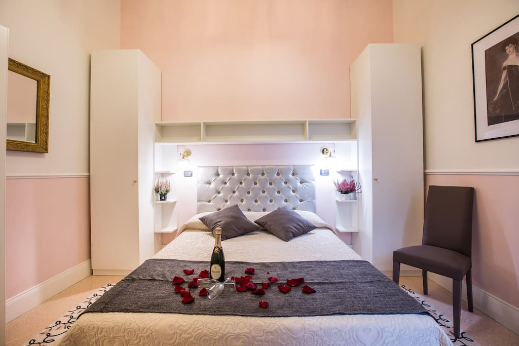 Vista suite matrimoniale