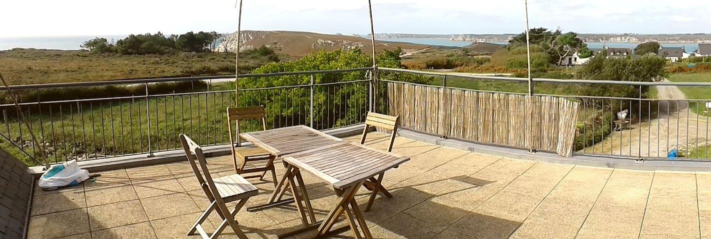 Gîte à la ferme avec vue panoramique sur l'océan
