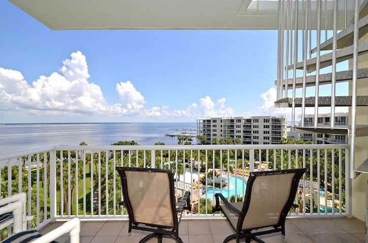 Destin West End-Unit Penthouse - Lazy River - Amazing Views - Must See! - Okaloosa Island