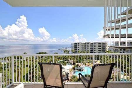 Destin West End-Unit Penthouse - Lazy River - Amazing Views - Must See! - Okaloosa Island - Társasház