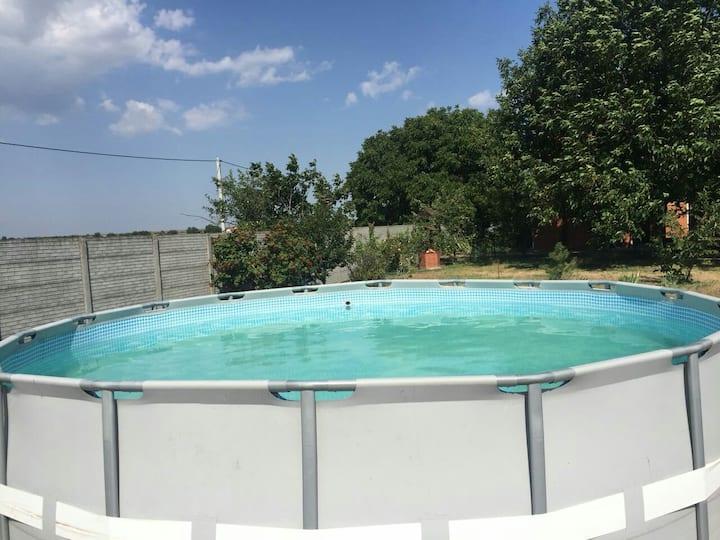 Загородный дом для хорошего отдыха