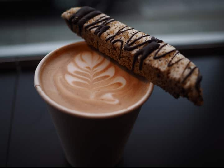 Coffee stop.