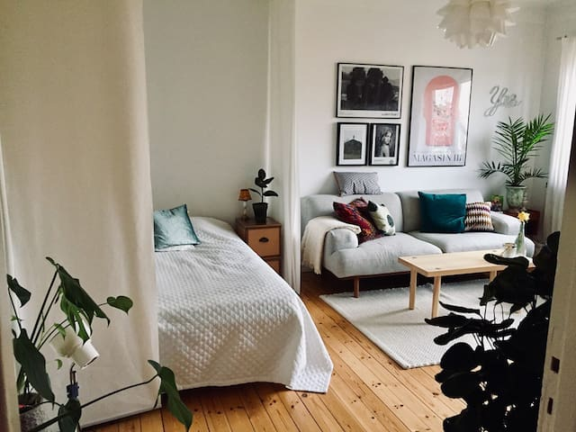 Cozy studio close to Stockholm centre