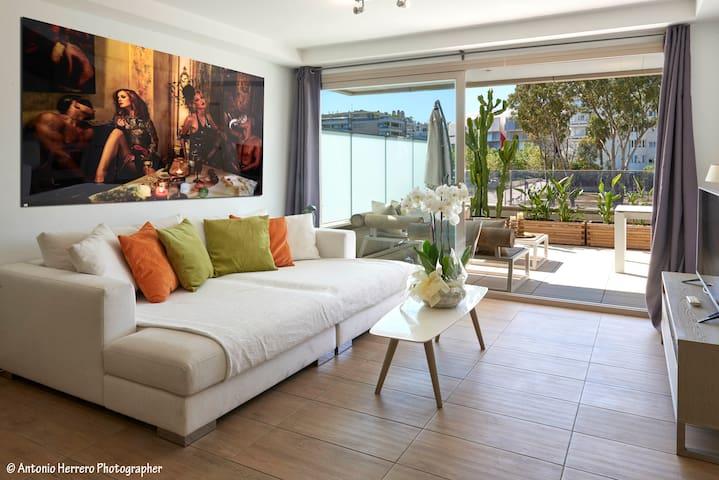 Pacha suite- elegant one-bedroom apartment.