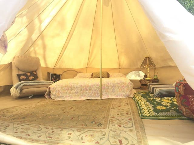 The Love Yurt by the Kern River - Kernville