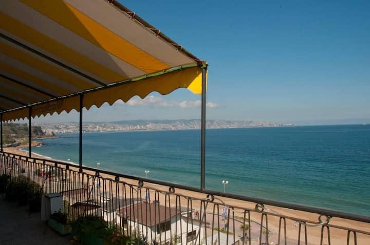 Casa en la playa Reñaca