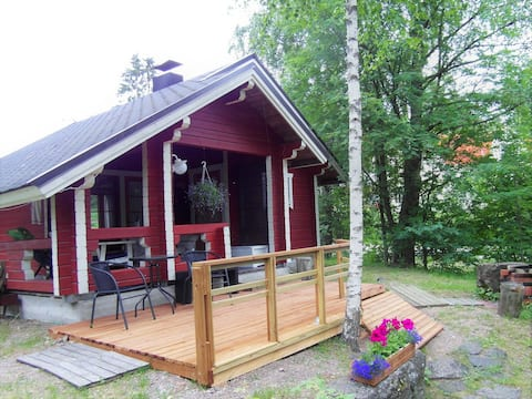 Small cottage with sauna