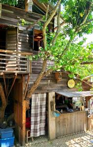 Lovely Tree House at Adobe Home Chiangmai.