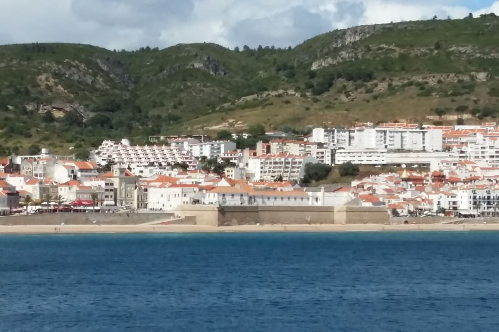 Sesimbra from the sea