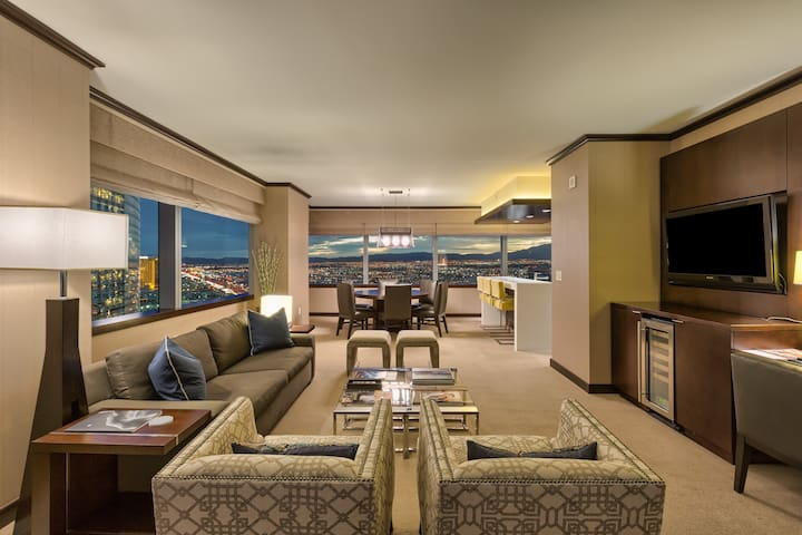Vdara's Biggest Penthouse!! 2+BR/ Jaw Drop Views!!