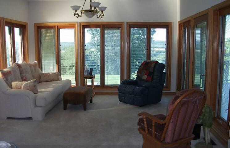 Sun Room Main Floor