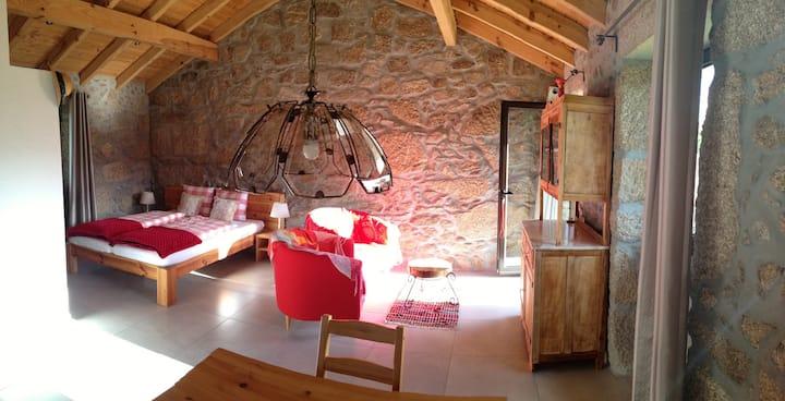 Quinta do Tapadao, Serra Estrela, Ferien-Studio