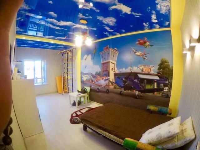 Спальня-Детская 2-ой этаж