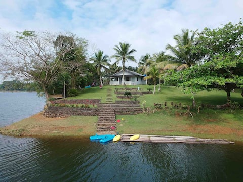 Entire house on your own private island-  Anayad