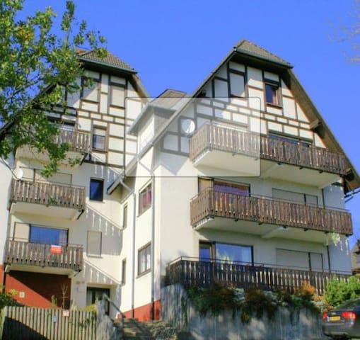 Ferienwohnung mit Balkon Winterberg-Neuastenberg - Winterberg - Apartment