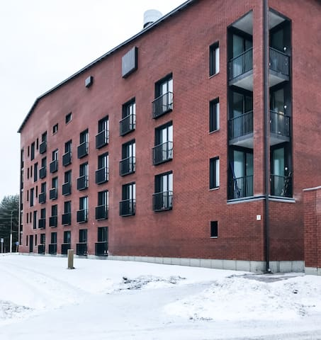Luxurious and new studio apartment located in Linnanmaa, Oulu