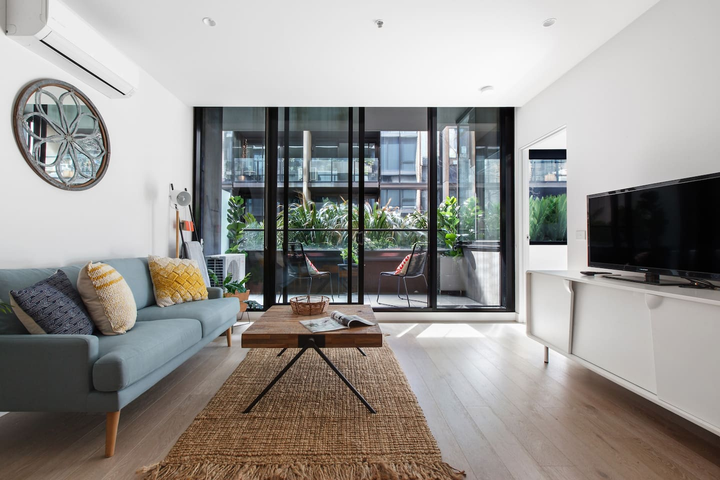Stylish and spacious apartment