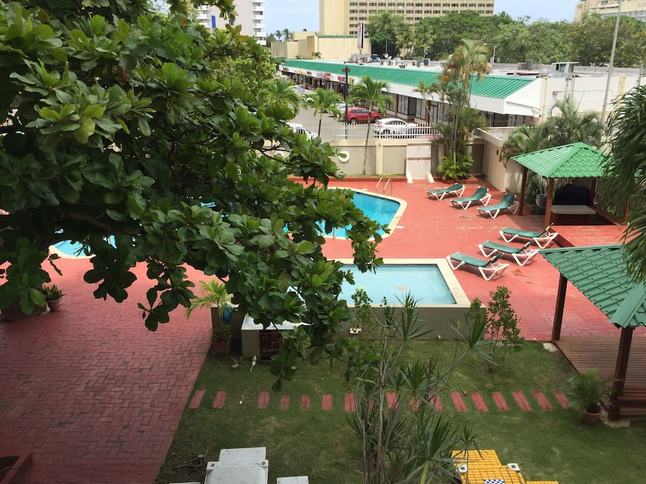 Enjoy your day at the pool or using BBQ facilities.