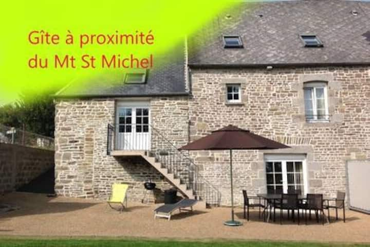 Vacances Le Domaine, Gîte à prox Mt St Michel