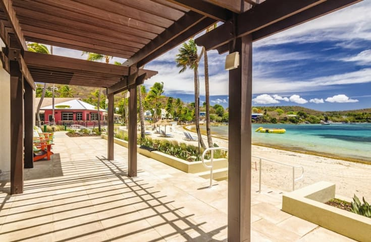 Take in the salty breezes at St. Thomas