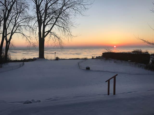 Lake Michigan Sandy Beach