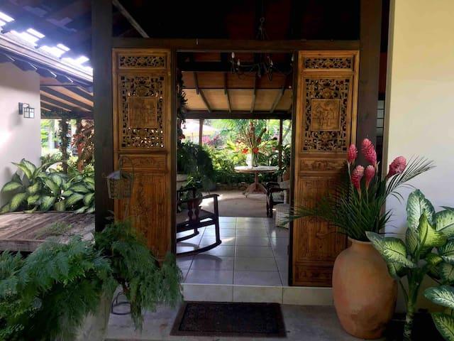 Beautiful Balinese setting