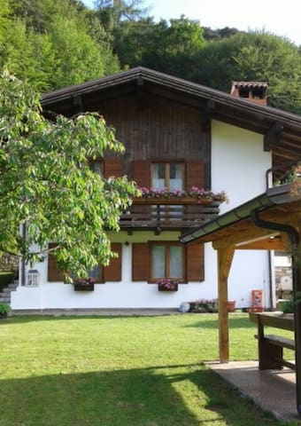 Chalet Monica, tranquility surrounded by greenery - Molina di Ledro - Pis