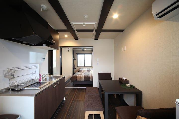 Kyoto st/Wifi/Cozy&Clean/Near Gion/Quite area/3F