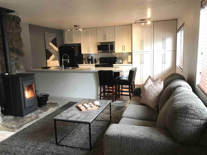 Upstairs 2 Bedroom Condo Shuttle stop to Chair 15